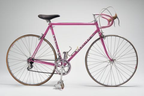 Vélo de contre-la-montre de Raymond Poulidor Fabricant: Mercier, Saint-Etienne, 1975-1976