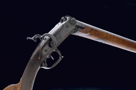 Fusil de chasse de 1812 fabriqué à Paris.