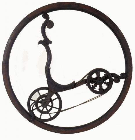 Monocycle de Brescia fabriqué en Italie dans la seconde moitié du XVIIIe siècle