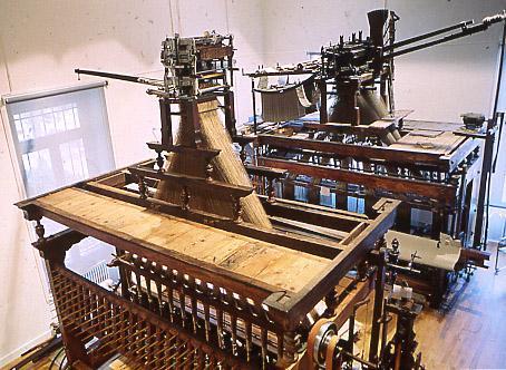 Métier à tisser les rubans avec mécanique Jacquard