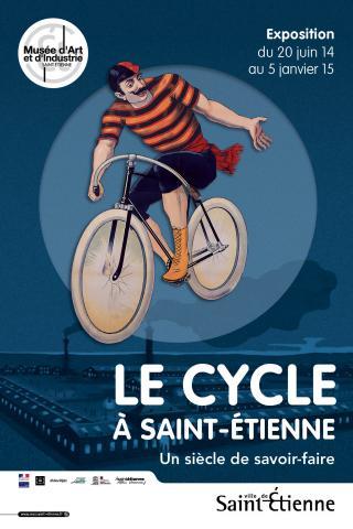 Tous à bicyclette pour l'exposition « Le cycle à Saint         Etienne, un siècle de savoir-faire » du 20 juin 2014 au 5         janvier 2015 !