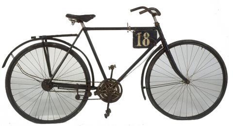 Bicyclette Automoto modèle Spécial BH Fabricant Automoto, Saint-Etienne, 1922