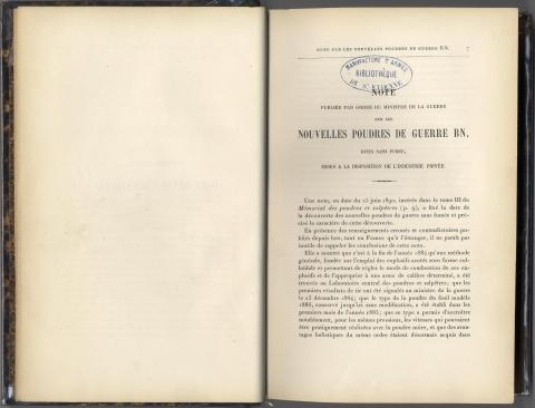 Bibliothèque de la manufacture nationale d'armes
