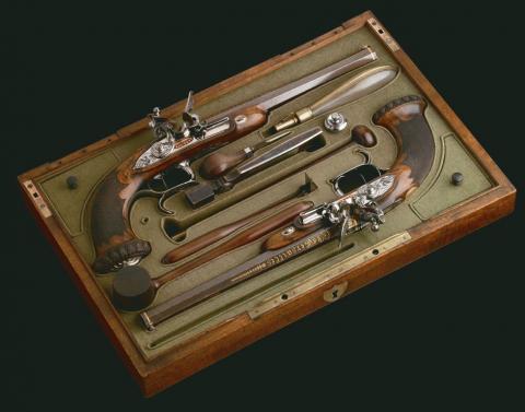 Boutet et la Manufacture de Versailles : arme de poing de la fin du XVIIIe - début du XIXe siècles fabriquée à Versailles, France