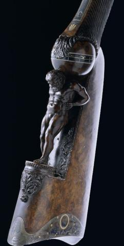 Fusil Cessier : fusil de chasse fabriqué entre 1810 et 1825 à Saint-Etienne