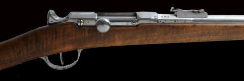 Fusil Chassepot : fusil de guerre fabriqué en 1866 à Saint-Étienne