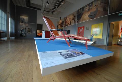 "Exposition ""Paquebot France, design embarqué"""