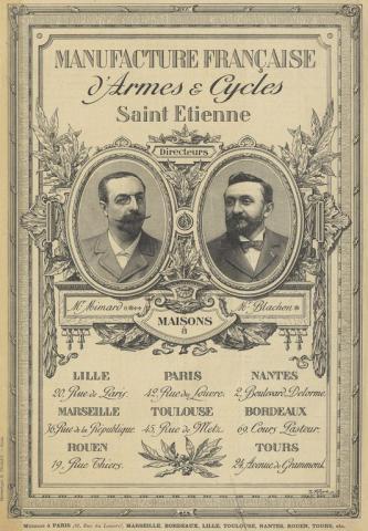 Fondateurs de Manufrance Saint-Étienne