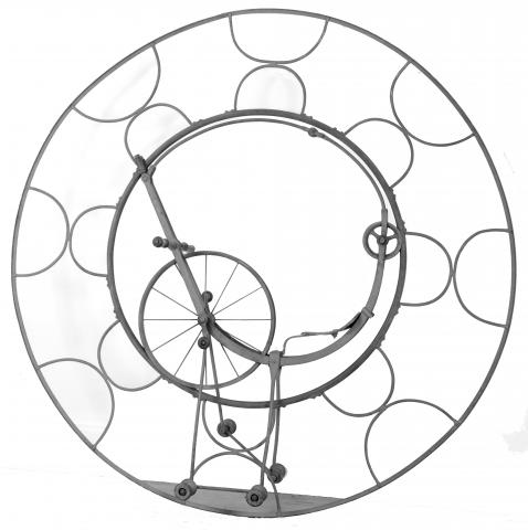 Monocycle de Jackson Concepteur et fabricant: William Jackson, Londres, 1870