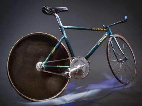 Vélo de piste de Jeannie Longo Fabrication sur mesure, France, 1989