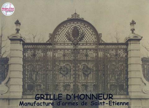 La Grille d'Honneur de la Manufacture d'armes de Saint-étienne