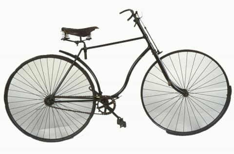 Bicyclette «Lion» Les Fils de Peugeot Frères, Valentigney, 1891