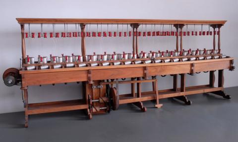 Modèle réduit de doublage fabriqué par Mousset à Saint-Etienne en 1870