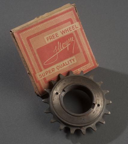 Roue libre « J. Moyne» Fabricant Duban, Saint-Etienne, années 1950