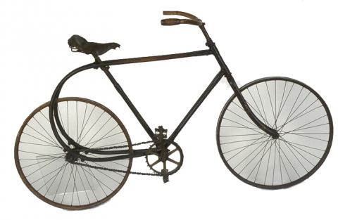 Bicyclette en bois courbé « La Souplette » Don atelier du Furan Paris, 1897