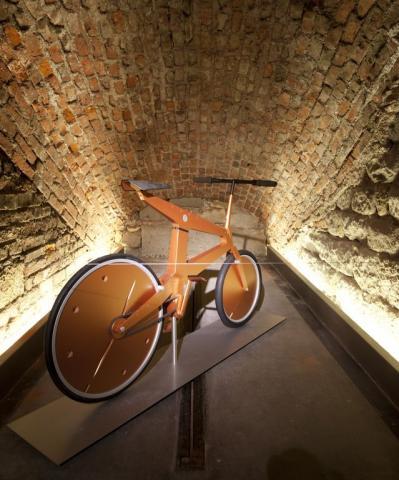 Spad Vélo System Maquette échelle 1 Conception: Stéphane Bureaux et Jean-Louis Fréchin, ENCSI Paris, 1989