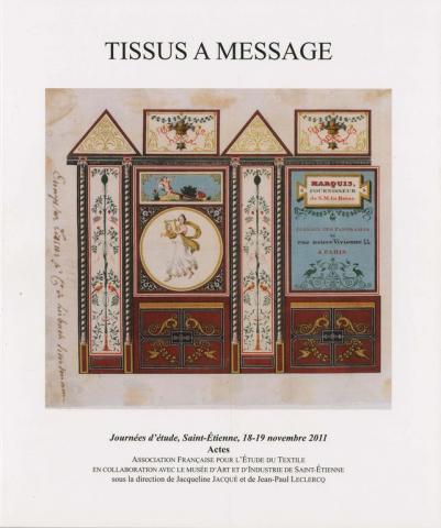 tissus messages mus e d 39 art et d 39 industrie de saint etienne. Black Bedroom Furniture Sets. Home Design Ideas