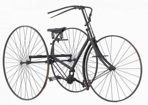 Fabricant de tricycle The Quadrant Cycle Co, Birmingham, 1888