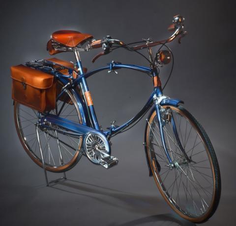 Vélo urbain pliant Designer Nicola Trussardi, Milan, conception 1981, fabrication 1993