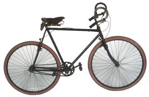 Bicyclette bi-chaîne «La Gauloise» Fabricant Paul de Vivie, Saint-Etienne, 1922