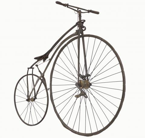 Vélocipède de transition Fabricant Eugène Meyer, Paris, vers 1870