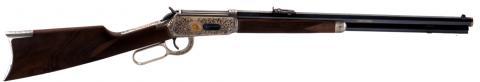 Fusil Winchester, modèle 1866 :  fusil à répétition manuelle fabriqué aux États-Unis d'Amérique en  1866